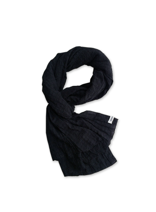 [50% OFF] EASY WAVY SCARF (BLACK)