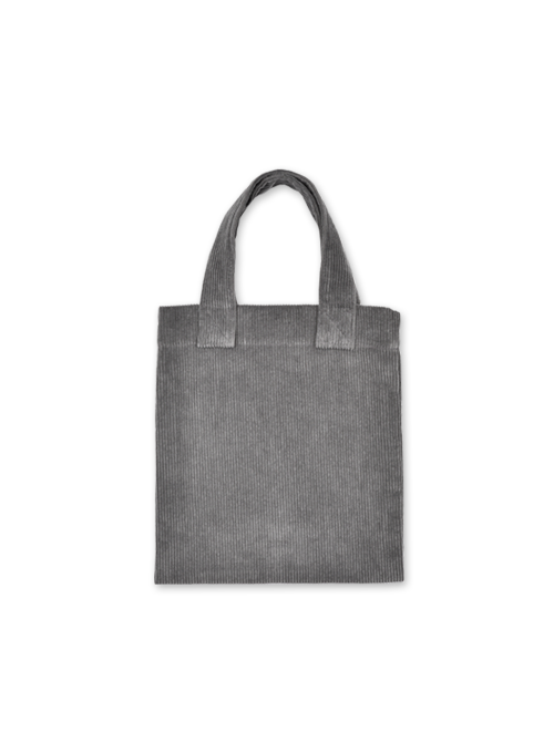 [30% OFF] CORDUROY TOTE BAG (GRAY)