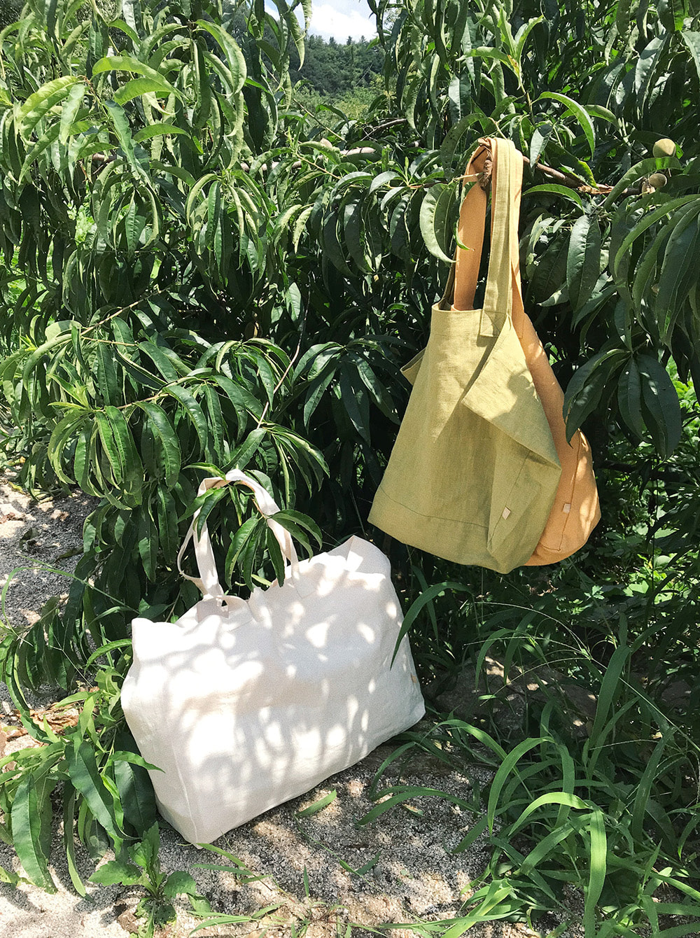 [30% OFF] LINEN BIG BAG (3COLORS)