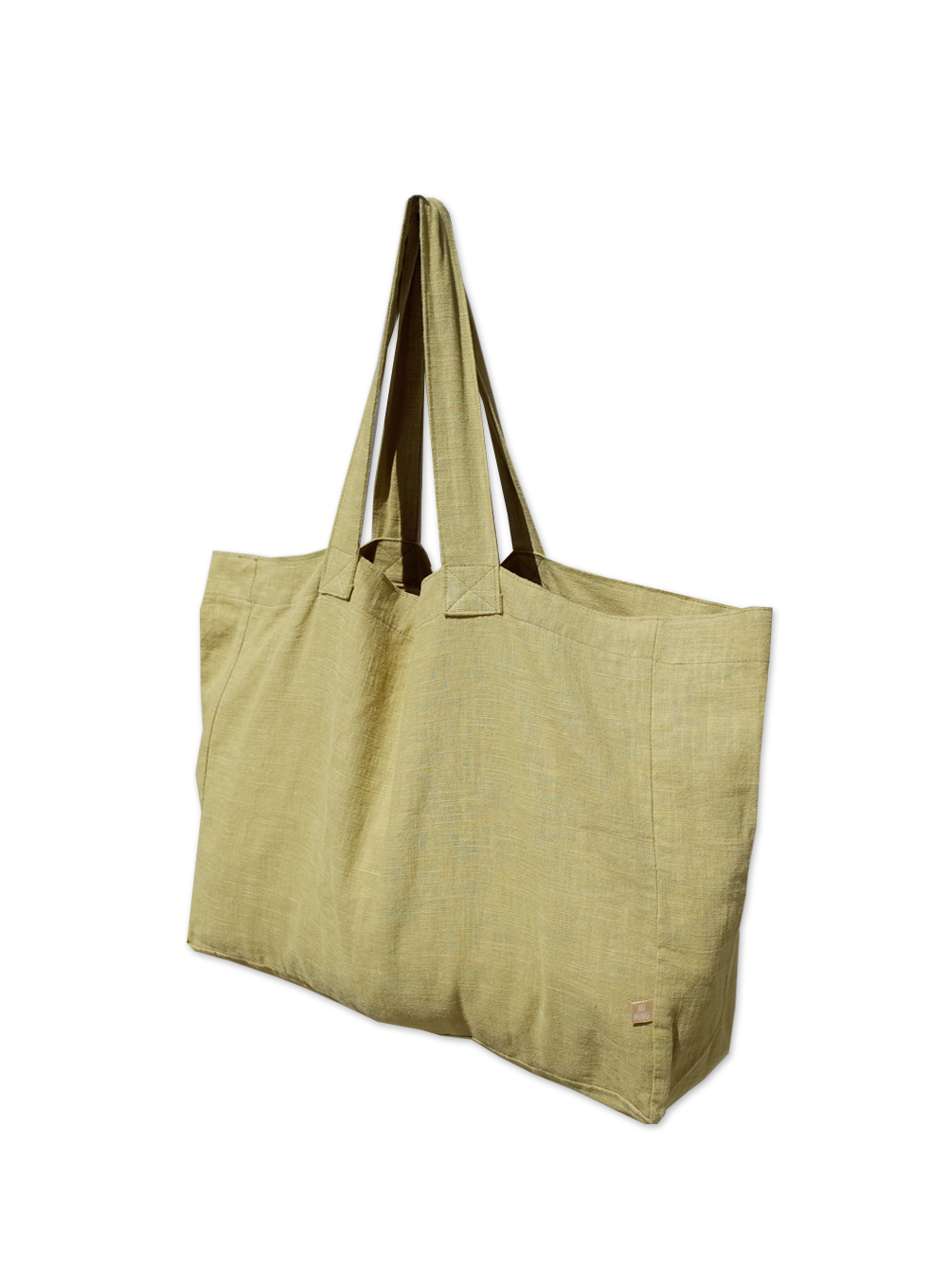 [30% OFF] BIG BAG (OLIVE LINEN)