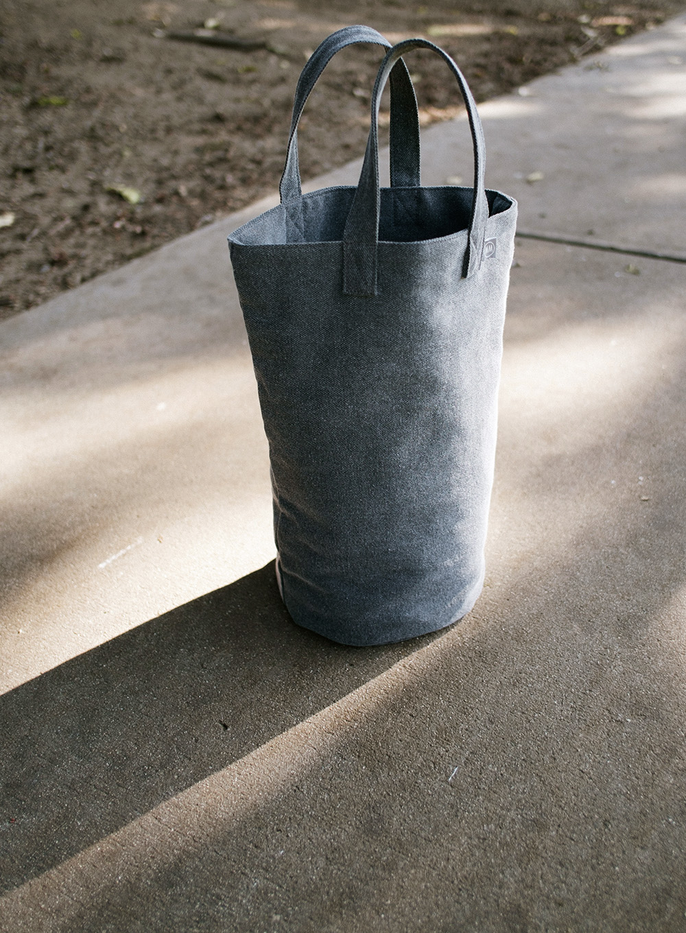 [10% OFF] CYLINDER BAG (DARK GRAY)